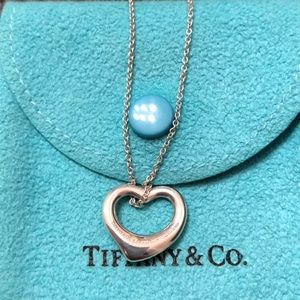 Elsa Peretti Tiffany Open Heart Pendant